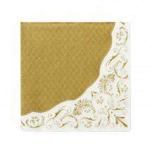 Servetit Elegantti Kulta 20-pakkaus