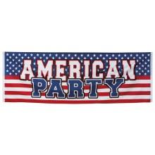 Banderolli USA American Party 74 x 220 cm