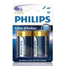 Ultra Alkaline D LR20 2-pakkaus Paristoja