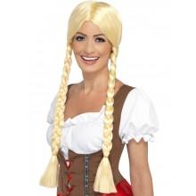 Blondi Baijerilainen Peruukki