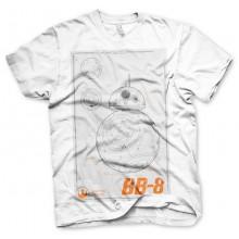 Star Wars Bb-8 Blueprint T-Paita
