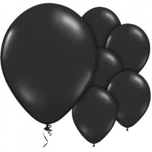 Ilmapallot Mustat 10-Pakkaus
