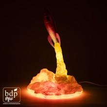 Blast Off Raketti Lamppu