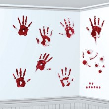Bloda Händer Dekoration