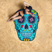 Rantapyyhe Sugar Skull