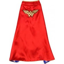 Cape Wonder Woman Lasten Naamiaisasu
