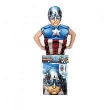 Captain America Party Pack Lasten Naamiaisasu