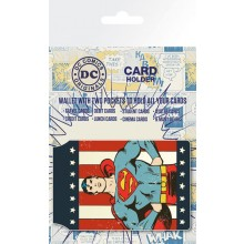 Superman Korttipidike Retro