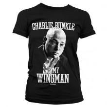 Charlie Runkle Is My Wingman Naisten T-Paita Musta