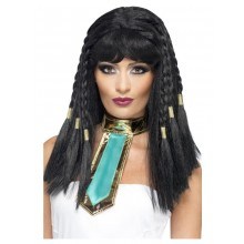 Peruk Cleopatra Svart
