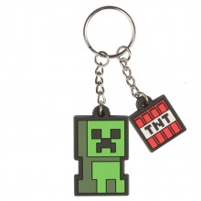Minecraft Creeper Sprite Nyckelring
