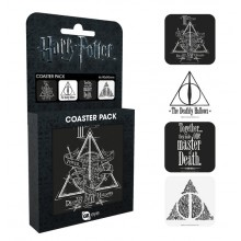 Harry Potter Lasinaluset 4-pakkaus Deathly Hallows