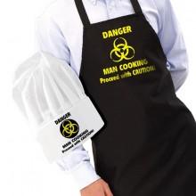 Esiliina ja Kokkihattu - Danger Man Cooking