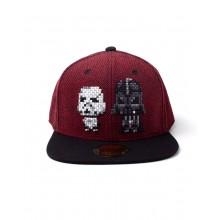 Star Wars Darth Vader & Stormtrooper Pixel Snapback Lippis