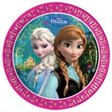 Lautaset Frozen 8-pakkaus