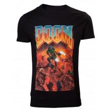 Doom Classic Box Art T-paita