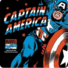 Captain America Lasinaluset 6-pakkaus