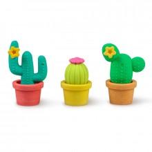 Kaktus Pyyhekumi 3-pakkaus