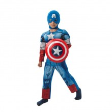 Captain America Lasten Naamiaisasu Deluxe