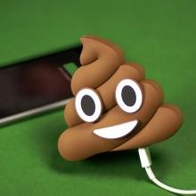 Laturi USB Emoji Kakka