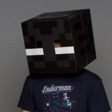 Minecraft Enderman Pää