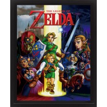 The Legend Of Zelda 3D Juliste