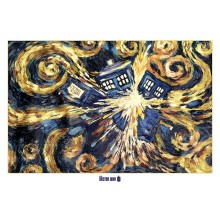 DOCTOR WHO EXPLODING TARDIS JULISTE