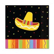 Servetit Sombrero Fiesta 16-pakkaus