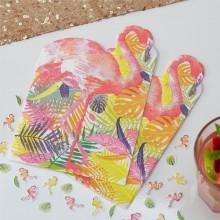 Servetit Flamingo Deluxe 20-Pakkaus