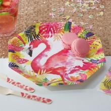 Lautanen Flamingo Deluxe 8-Pakkaus