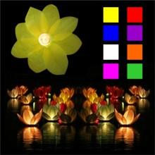 Kelluva Lotus-Kukka