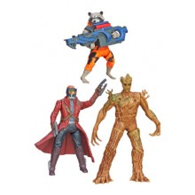 Guardians of the galaxy Hahmot 13cm Galactic Battlers