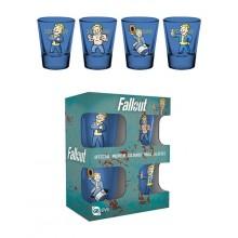 Fallout Vault Boy Premium Shottilasi 4-pakkaus