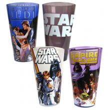 Star Wars Original Trilogy Lasit 4-Pakkaus