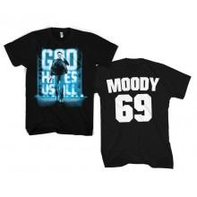 God Hates Us All - Moody 69 T-Paita Musta