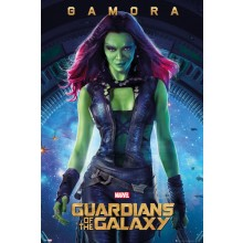 GUARDIANS OF THE GALAXY GAMORA JULISTE