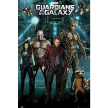 GUARDIANS OF THE GALAXY RYHMÄ JULISTE