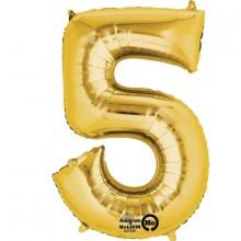 Numeroilmapallo Kulta 5