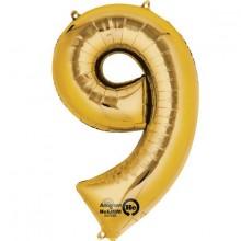 Numeroilmapallo Kulta 9