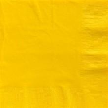 Servetit Keltainen 20-Pakkaus