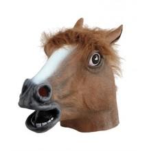 Hästhuvud Latexmask