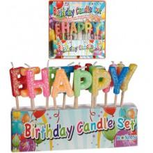 Happy Birthday Kynttilät