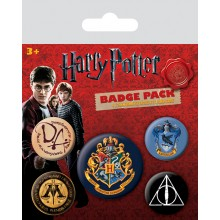 Harry Potter Merkit 5-pakkaus Tylypahka