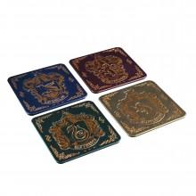 Harry Potter Drinkunderlägg i Metall 4-pack