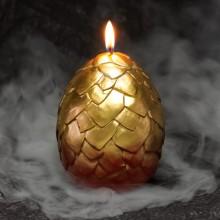 Kuoriutuva Lohikäärmeenmuna Kynttilä