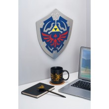 Zelda Glow In The Dark Hylian Shield Seinäkoriste