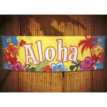 Banneri Aloha 74x220 cm