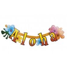 Kirjainbanneri Aloha 83 cm