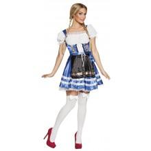 Tirolin Mekko Helena Sininen Oktoberfest