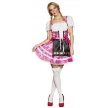 Tirolin Mekko Helena Vaaleanpunainen Oktoberfest
